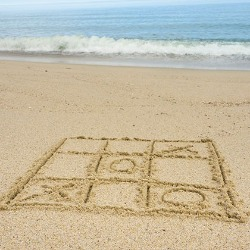 Beach Tic-Tac-Toe