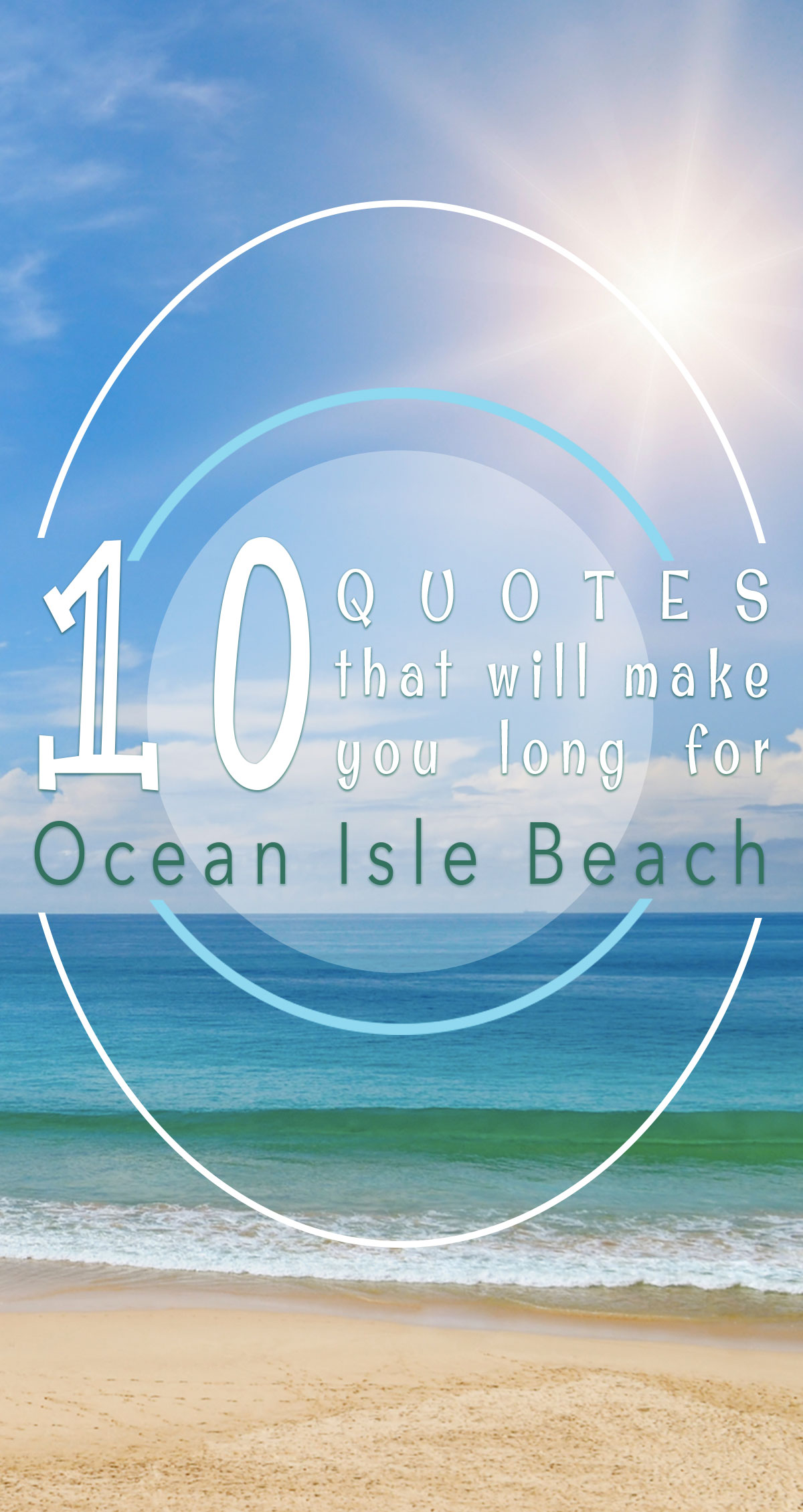 10 Quotes That Will Make You Long For Ocean Isle Beach Pin