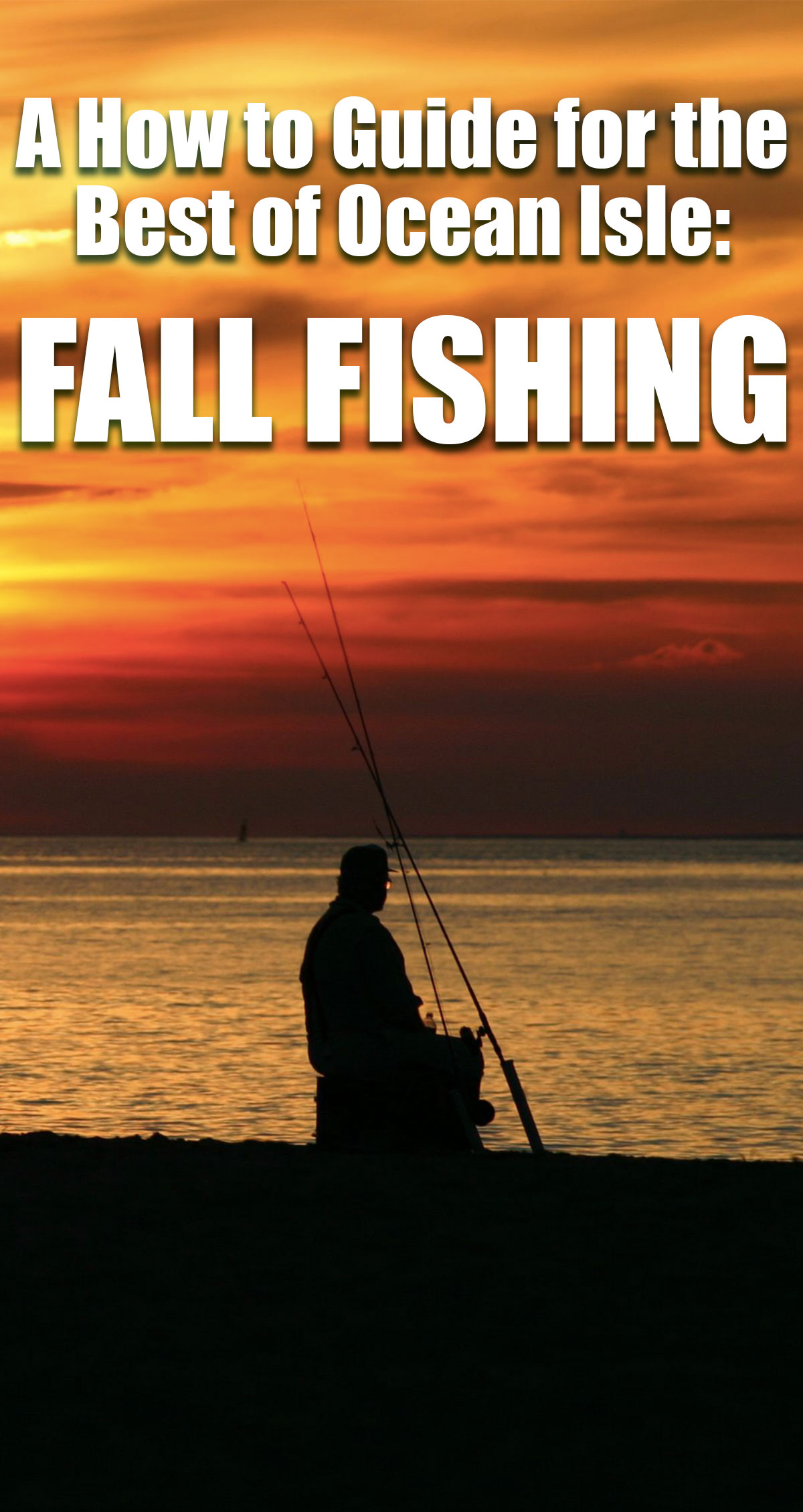 A How to Guide for the Best of Ocean Isle: Fall Fishing Pin