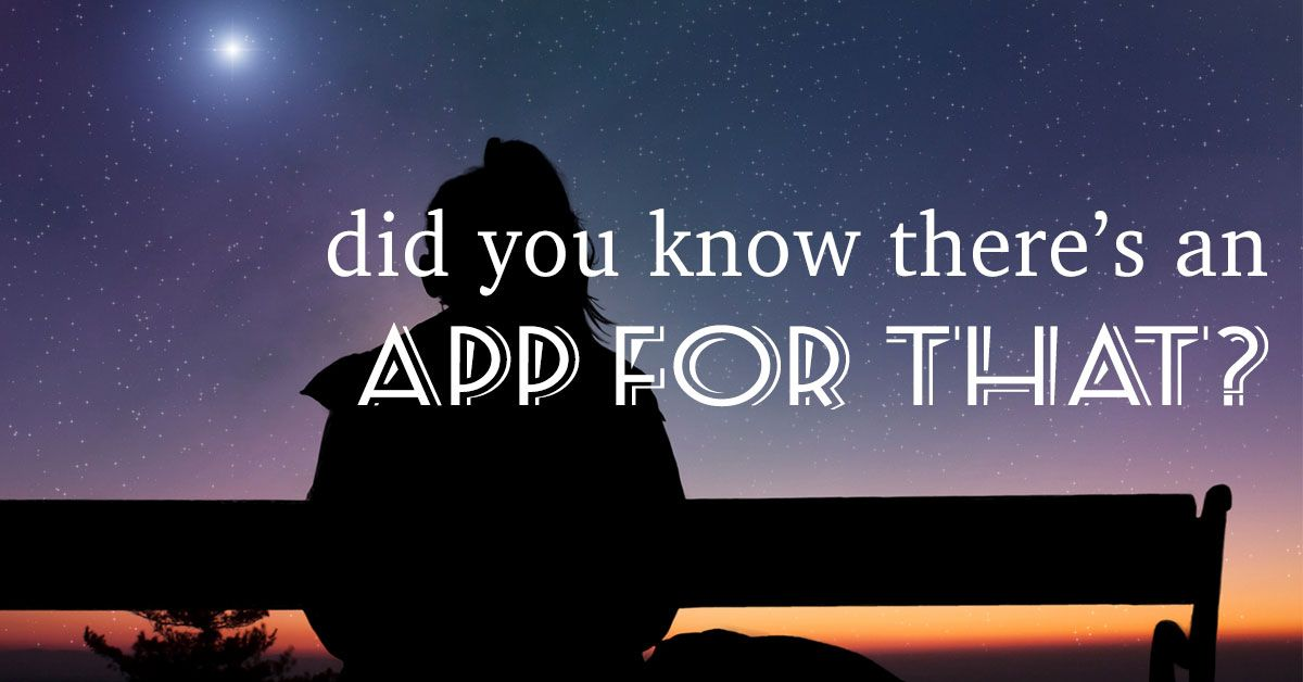 Did You Know There's an App for That?
