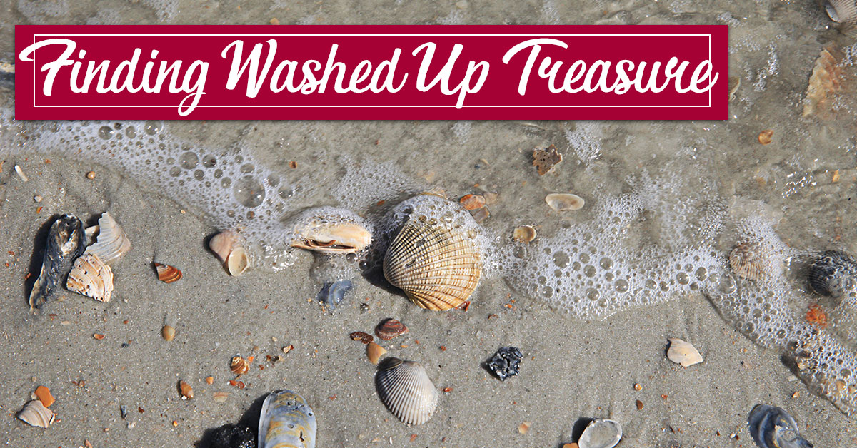 Finding Washed Up Treasure