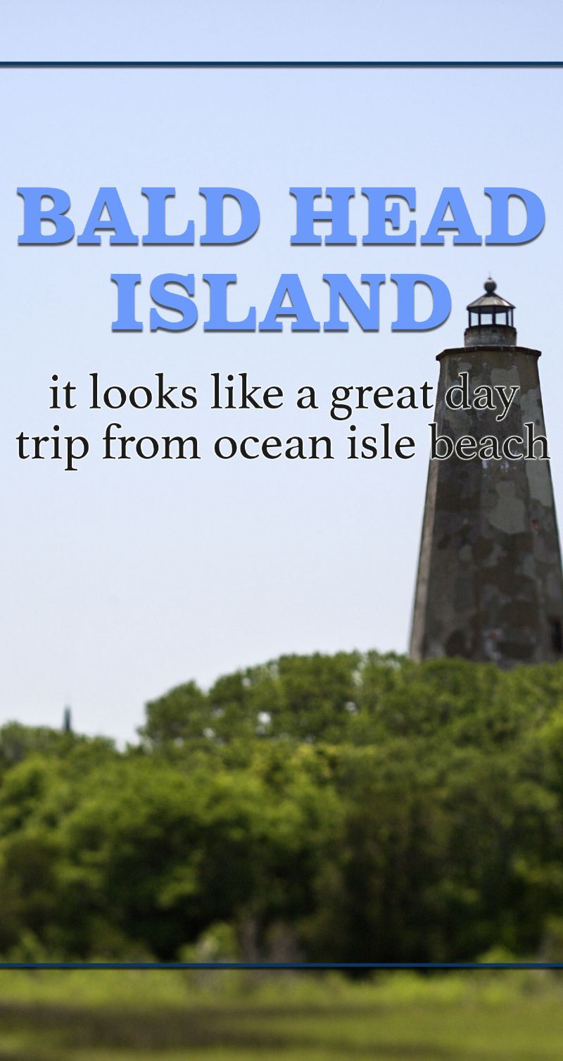 Bald Head Island Pin