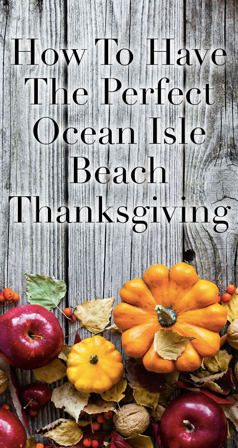 Ocean Isle Beach Thanksgiving Pin