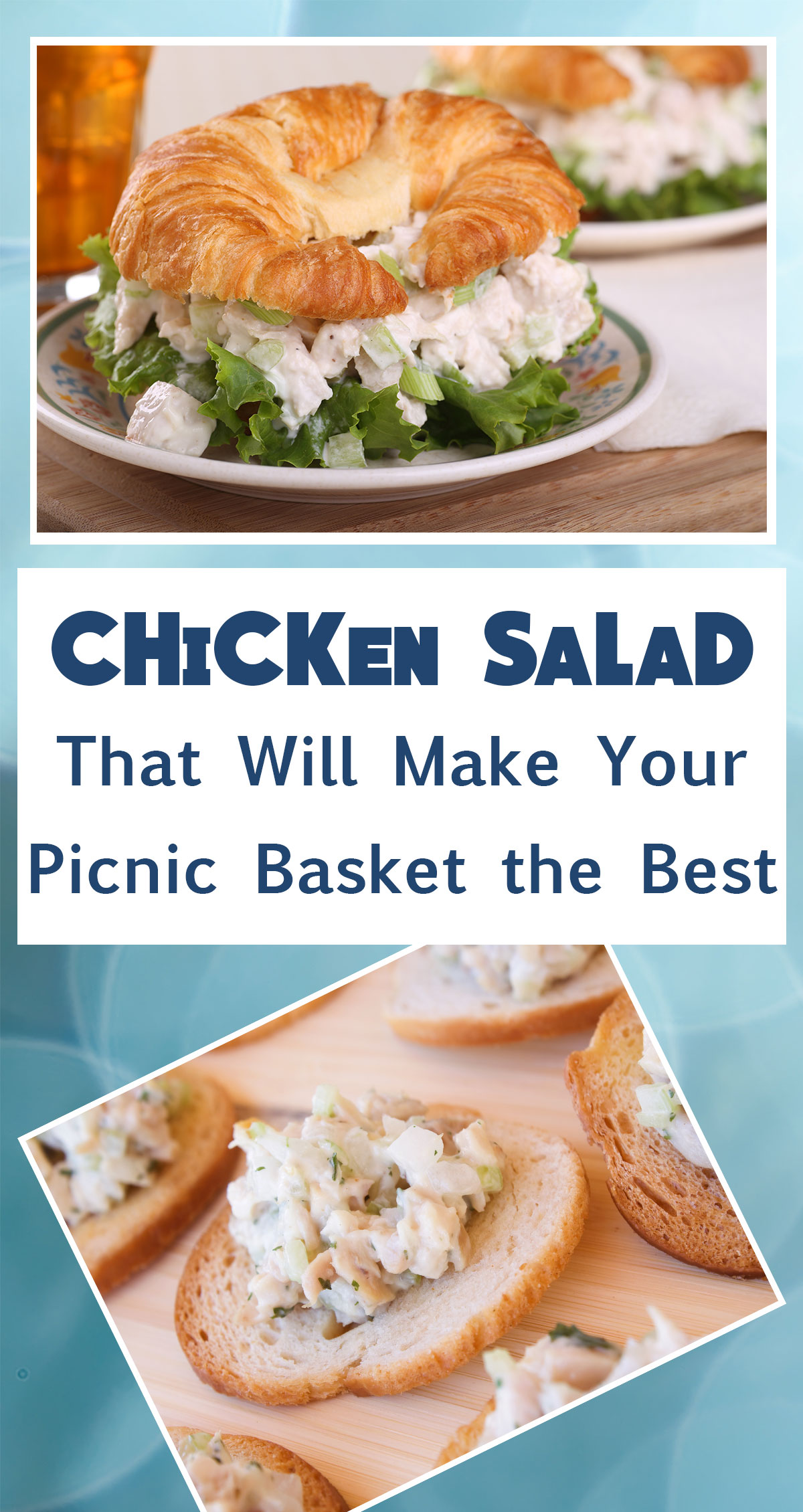 Chicken Salad That Will Make Your Picnic Basket the Best Pin