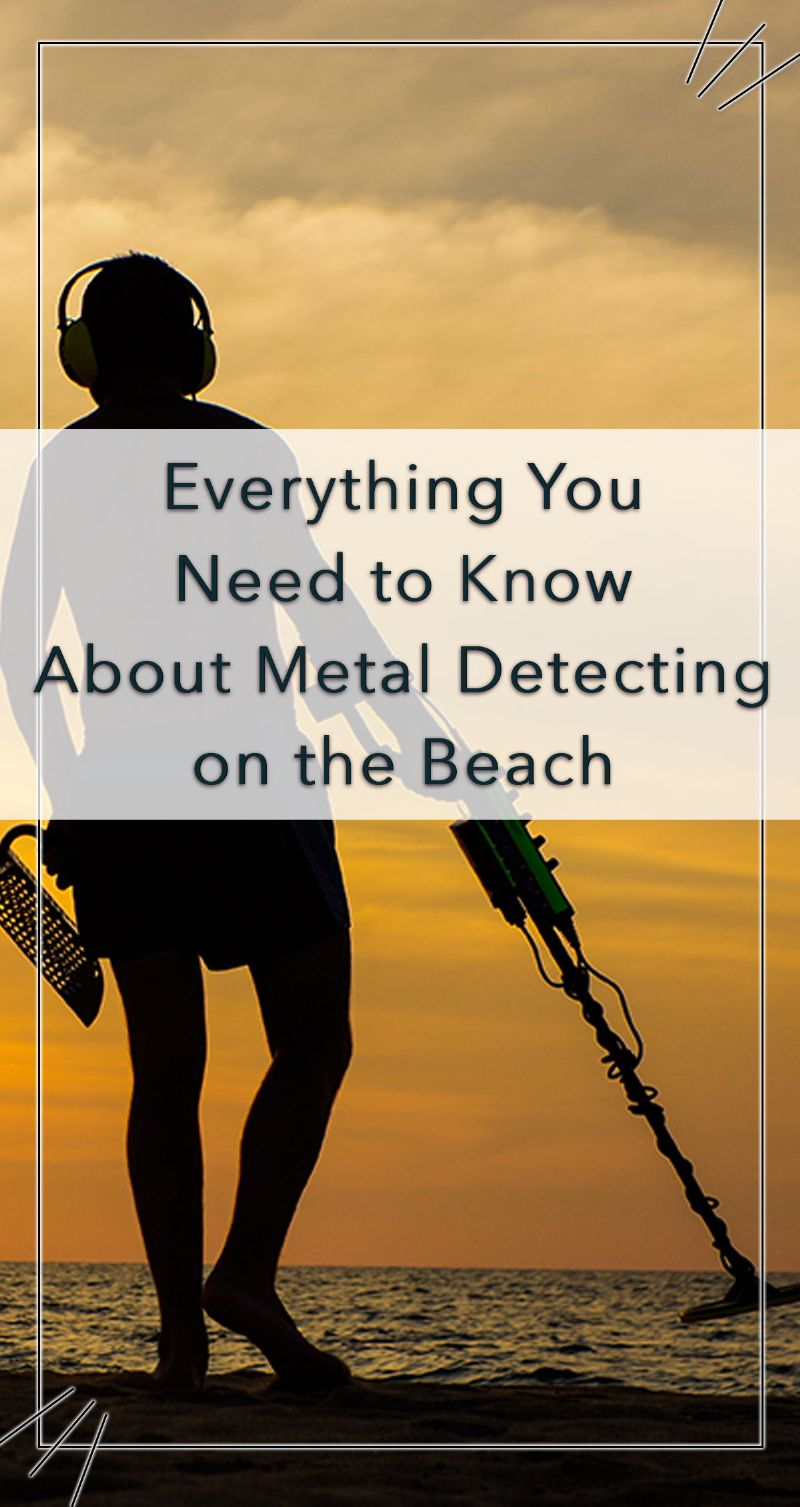Metal Detecting on the Beach Pin