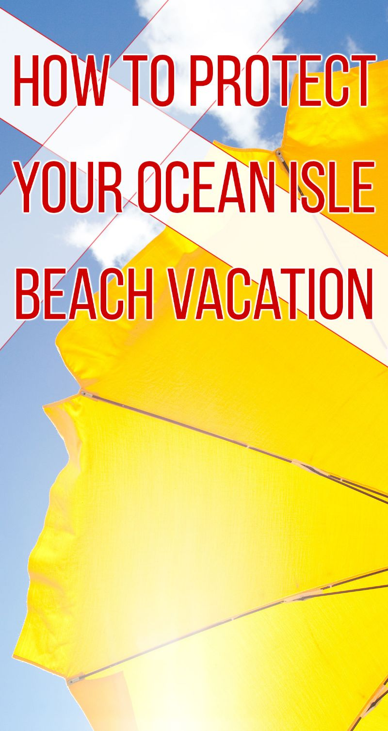 Protect Your Vacation Pin