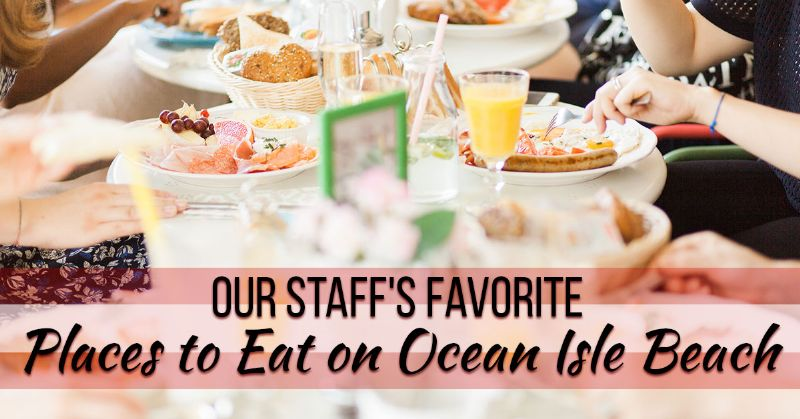 Staff's Favorite Places to Eat