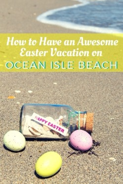 Ocean Isle Beach Easter Pin