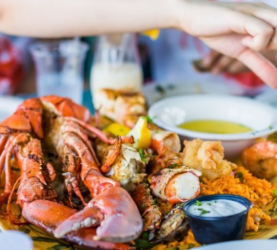 seafood dinner | Williamson Realty