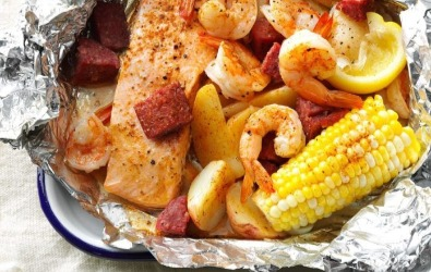 Cajun Boil On The Grill | Williamson Realty Vacations
