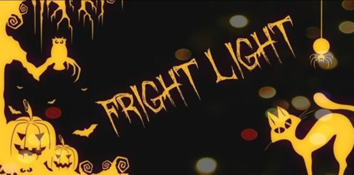 logo for fright light event at the Ingram Planetarium | Williamson Realty