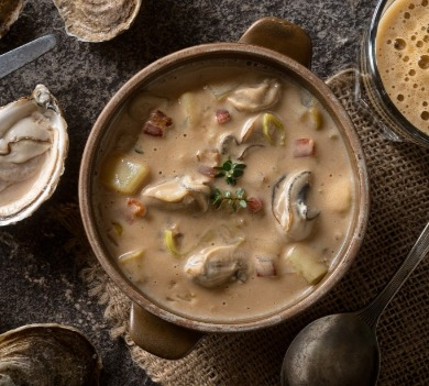 bowl of oyster stew | Williamson Realty