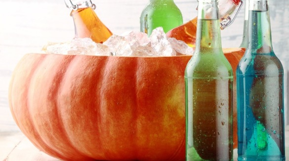 Pumpkin Party Cooler | Williamson Realty Vacations