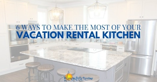 Vacation rental kitchen | Williamson Realty