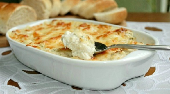 hot crab dip appetizer | Williamson Realty