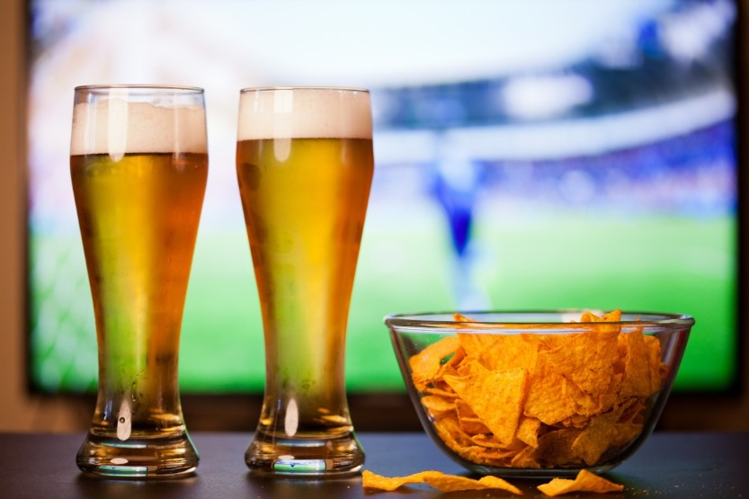 watching sports while drinking beer | Williamson Realty Vacations