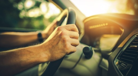 man driving car | Williamson Realty Vacations