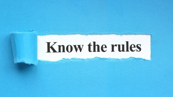 know the rules sign | Williamson Realty