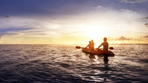 kayaking on ocean isle beach | Williamson Realty Vacations