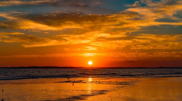ocean isle beach sunset | Williamson Realty Vacations