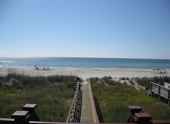 2. Hit the beach for the day | Williamson Realty Vacations