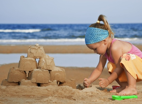 5. Build the ultimate sandcastle | Williamson Realty Vacations