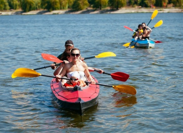 6. Family kayak adventure | Williamson Realty Vacations