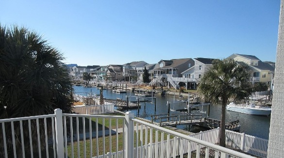 canal home in ocean isle beach nc | Williamson Realty Vacations