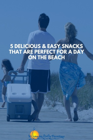 5 Delicious and Easy Snacks That are Perfect for a Day on the Beach