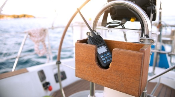 radio walkie talkie on a boat | Williamson Realty