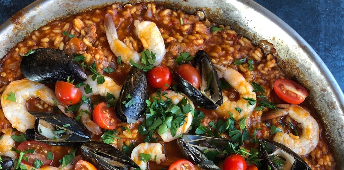 Seafood Paella | Williamson Realty