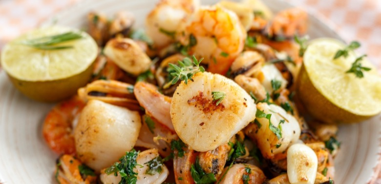 seafood scallop and shrimp meal | Williamson Realty