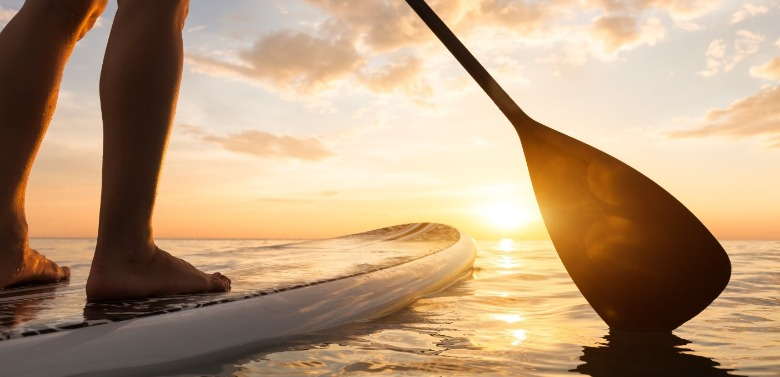 stand up paddleboarding | Williamson Realty