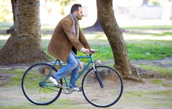 man riding bike | Williamson Realty Vacations